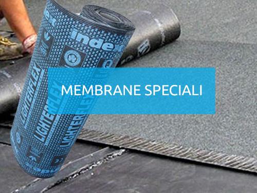 Membrane bituminose con funzione impermeabilizzante con ottime caratteristiche di allungamento